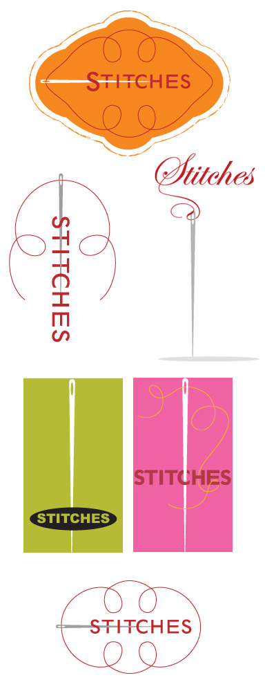 Stitches logo exploration